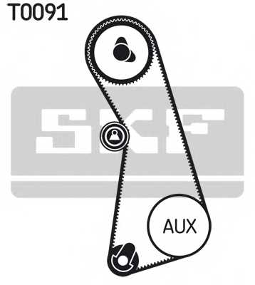 Комплект ремня ГРМ SKF VKMA 01002 - изображение 1