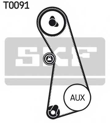 Комплект ремня ГРМ SKF VKMA 01003 - изображение
