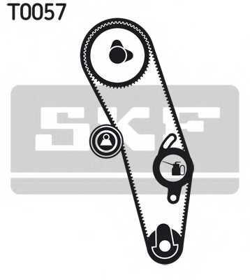 Комплект ремня ГРМ SKF VKMA 01020 - изображение