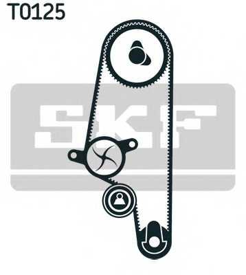 Комплект ремня ГРМ SKF VKMA 01106 - изображение