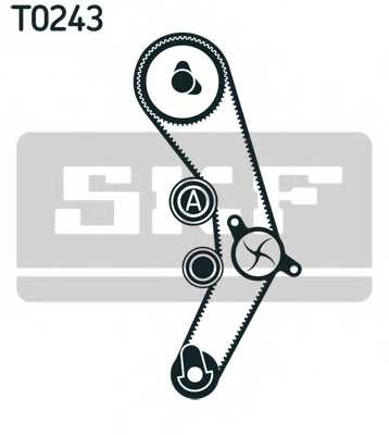 Комплект ремня ГРМ SKF VKMA 01136 - изображение 1