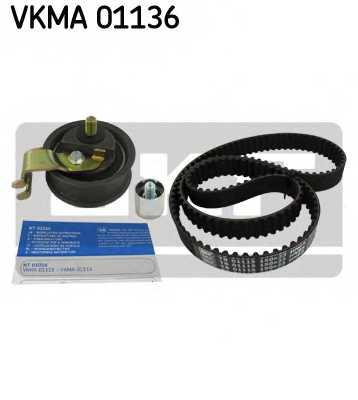 Комплект ремня ГРМ SKF VKMA 01136 - изображение