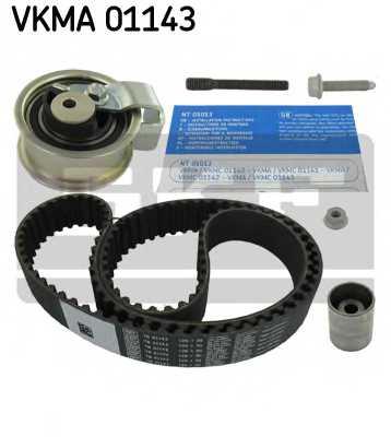 Комплект ремня ГРМ SKF VKMA 01143 - изображение