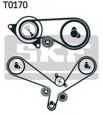 Комплект ремня ГРМ SKF VKMA 01152 - изображение 1