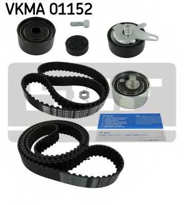 Комплект ремня ГРМ SKF VKMA 01152 - изображение