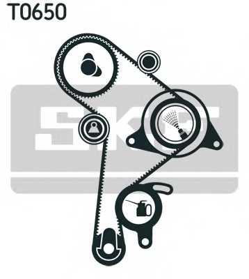 Комплект ремня ГРМ SKF VKMA 01256 - изображение
