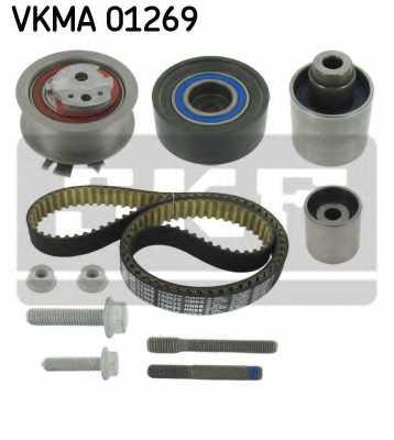 Комплект ремня ГРМ SKF VKMA 01269 - изображение