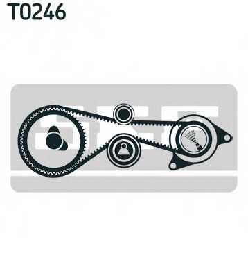 Комплект ремня ГРМ SKF VKMA 01335 - изображение