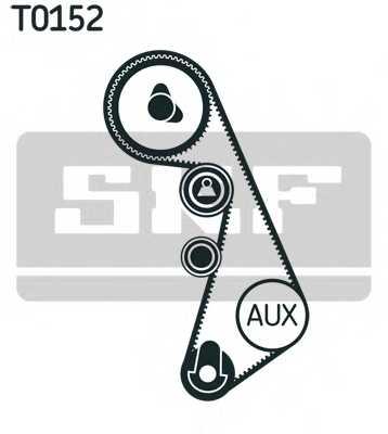 Комплект ремня ГРМ SKF VKMA 01908 - изображение