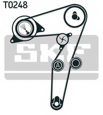 Комплект ремня ГРМ SKF VKMA02193 - изображение