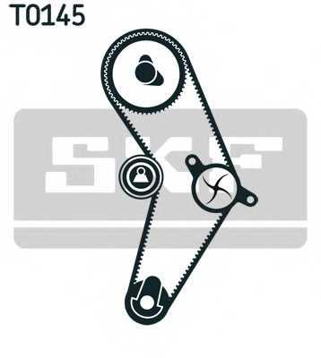 Комплект ремня ГРМ SKF VKMA 02204 - изображение