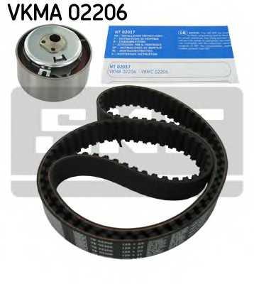 Комплект ремня ГРМ SKF VKMA 02206 - изображение 1