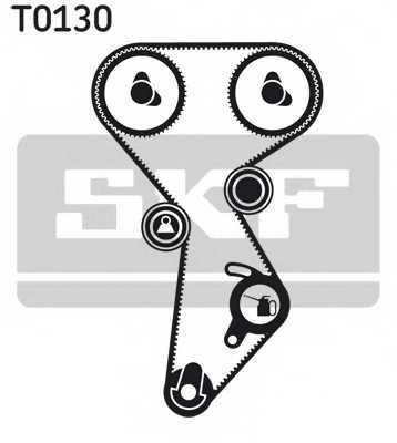 Комплект ремня ГРМ SKF VKMA 02242 - изображение 1