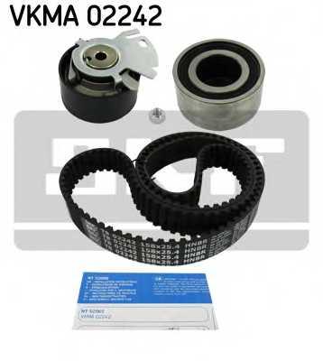 Комплект ремня ГРМ SKF VKMA 02242 - изображение