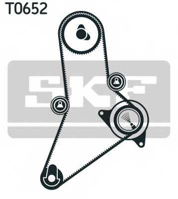 Комплект ремня ГРМ SKF VKMA 02384 - изображение 1
