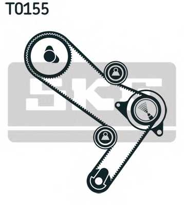 Комплект ремня ГРМ SKF VKMA 02386 - изображение 1