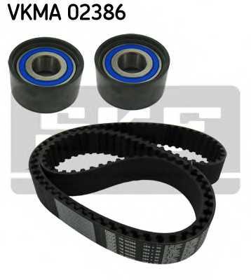 Комплект ремня ГРМ SKF VKMA 02386 - изображение