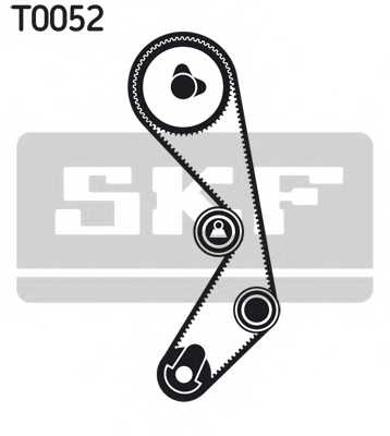 Комплект ремня ГРМ SKF VKMA 02410 - изображение