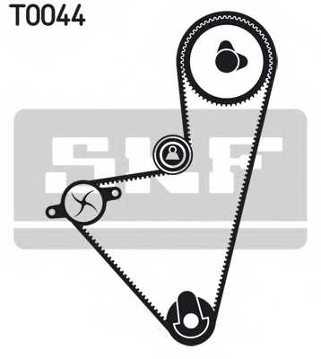 Комплект ремня ГРМ SKF VKMA 03100 - изображение