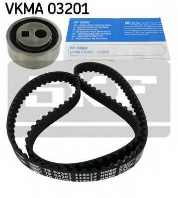 Комплект ремня ГРМ SKF VKMA03201 - изображение