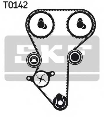 Комплект ремня ГРМ SKF VKMA 03216 - изображение 1