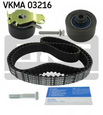 Комплект ремня ГРМ SKF VKMA 03216 - изображение