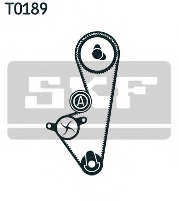 Комплект ремня ГРМ SKF VKMA 03254 - изображение