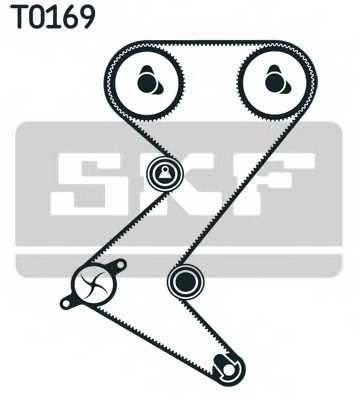 Комплект ремня ГРМ SKF VKMA 03263 - изображение 1