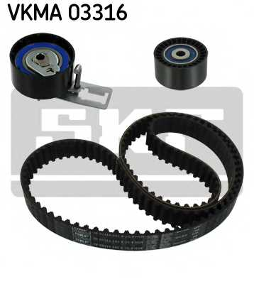Комплект ремня ГРМ SKF VKMA 03316 - изображение 1