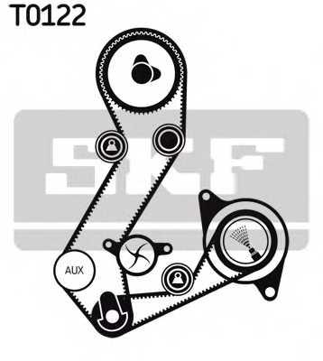 Комплект ремня ГРМ SKF VKMA 04106 - изображение 1