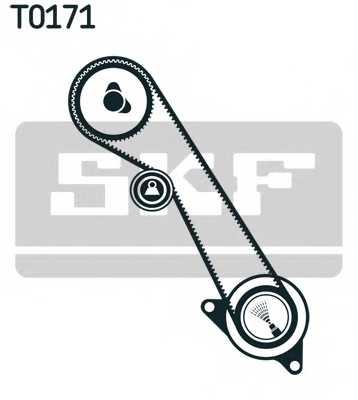 Комплект ремня ГРМ SKF VKMA 04108 - изображение 1