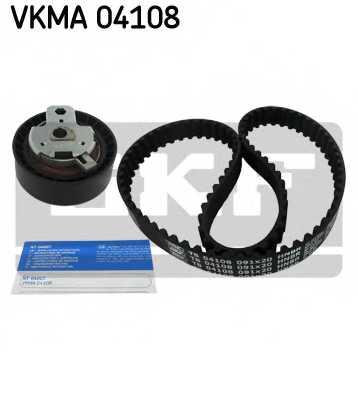 Комплект ремня ГРМ SKF VKMA 04108 - изображение