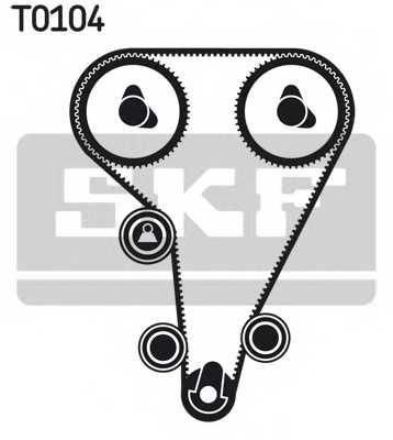 Комплект ремня ГРМ SKF VKMA 04212 - изображение 1
