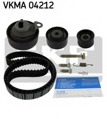 Комплект ремня ГРМ SKF VKMA 04212 - изображение