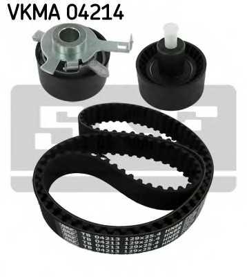Комплект ремня ГРМ SKF VKMA 04214 - изображение