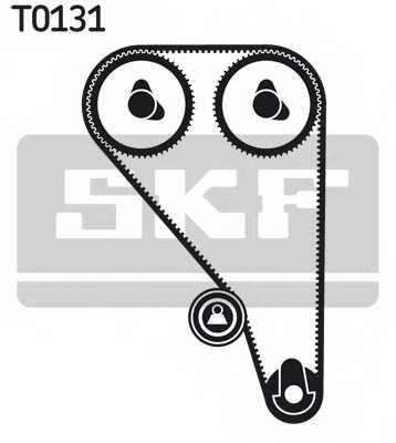 Комплект ремня ГРМ SKF VKMA 04222 - изображение