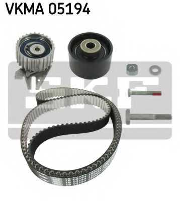 Комплект ремня ГРМ SKF VKMA05194 - изображение