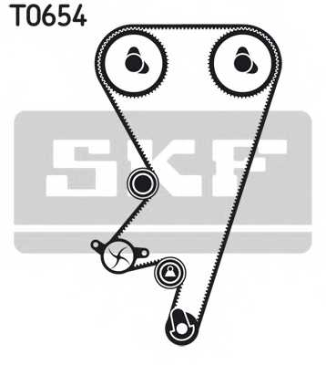 Комплект ремня ГРМ SKF VKMA 05202 - изображение 1