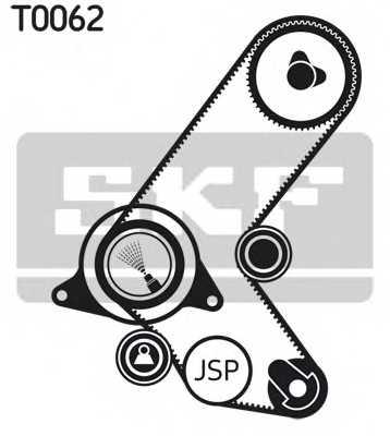 Комплект ремня ГРМ SKF VKMA 05214 - изображение 1