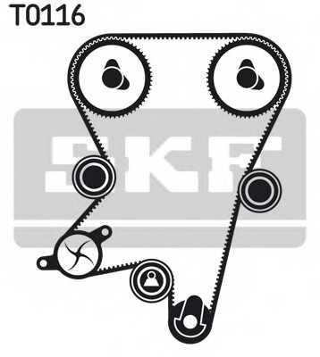 Комплект ремня ГРМ SKF VKMA 05222 - изображение
