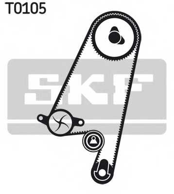 Комплект ремня ГРМ SKF VKMA05402 - изображение