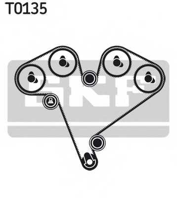 Комплект ремня ГРМ SKF VKMA 05500 - изображение 1