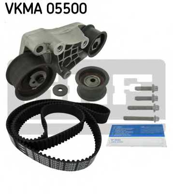 Комплект ремня ГРМ SKF VKMA 05500 - изображение