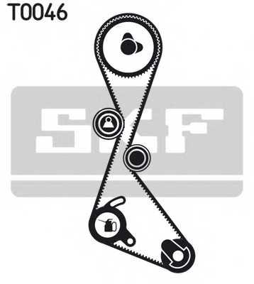 Комплект ремня ГРМ SKF VKMA 06101 - изображение