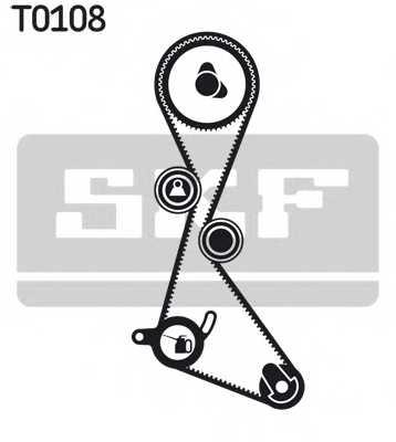 Комплект ремня ГРМ SKF VKMA 06103 - изображение 1
