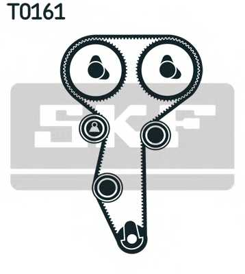 Комплект ремня ГРМ SKF VKMA 06107 - изображение