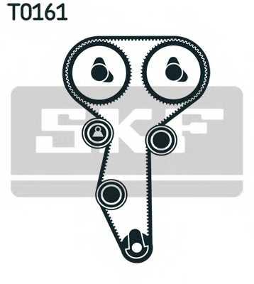 Комплект ремня ГРМ SKF VKMA 06108 - изображение 1