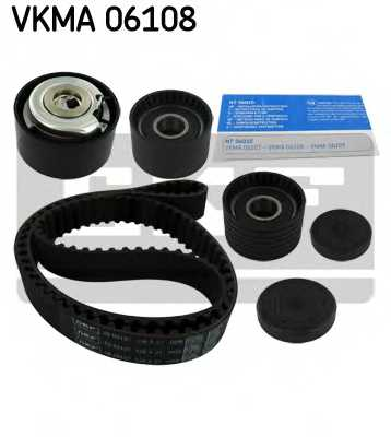 Комплект ремня ГРМ SKF VKMA 06108 - изображение