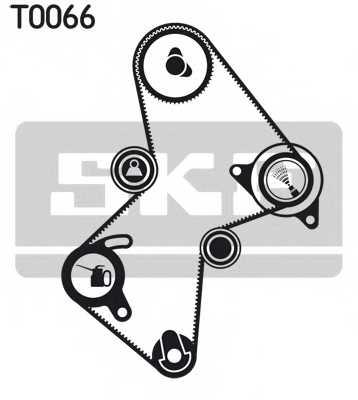 Комплект ремня ГРМ SKF VKMA 06111 - изображение