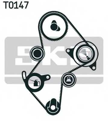 Комплект ремня ГРМ SKF VKMA 06114 - изображение 1